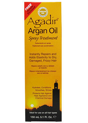 AGADIR Argan Oil Spray Treatment Repairs and Adds Elasticity
