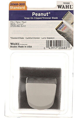 Wahl 2068-300 Standard Peanut Replacement Clipper/Trimmer Blade Snap-On  ()