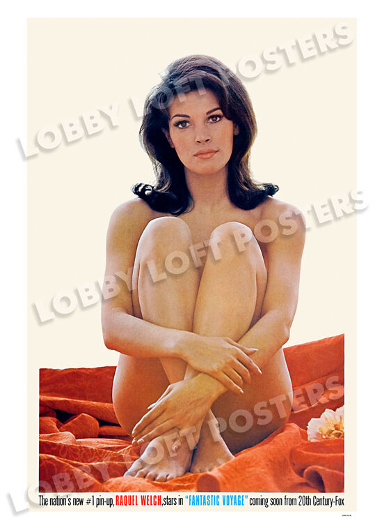 FANTASTIC VOYAGE LOBBY WINDOW CARD POSTER ADVANCED 1966 RAQUEL WELCH