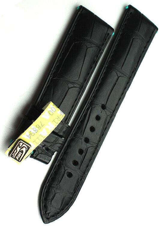 21mm Original Glashütte  Alligator Strap Uhrenarmband Band 21/18