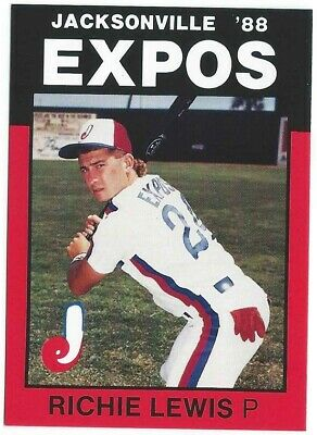 1988 Best Jacksonville Expos Minor League Baseball card - PICK/Choose