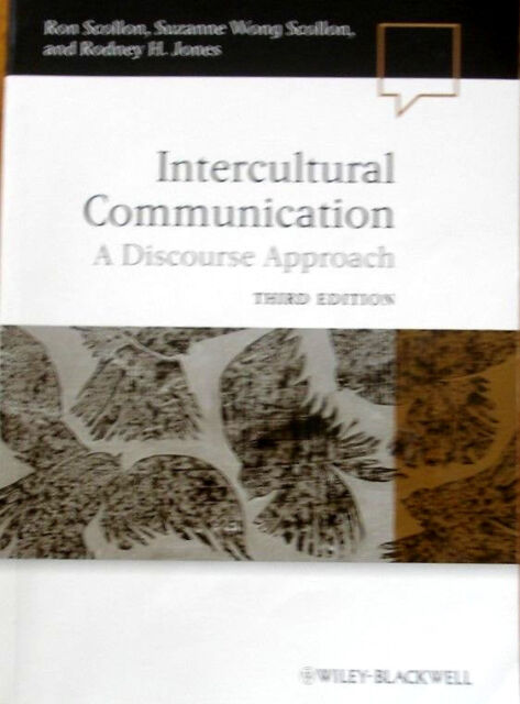 Intercultural Communication- A Discourse Approach Third Edition (Paperback 2012)