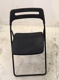 Ikea Foldable chairs - Black