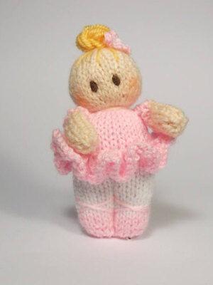 Ballet Knitting Patterns (Ballet Bitsy Baby doll knitting)
