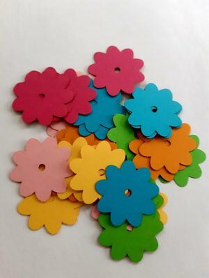 Daisy Flower Die Cut Outs ( Scrap Booking, Wedding Decoration, Spring - Flower Cut Outs