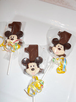 12 Disney Mickey Mouse themed 1st Birthday Party Favors Kids Party Favor Gift (Mickey Mouse Themed Parties)