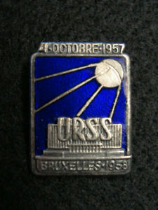 RUSSIAN SPUTNIK COMMEMORATIVE PIN
