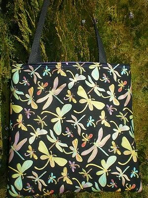 Сумка Dragonfly tote bag Dragonflies Handmade