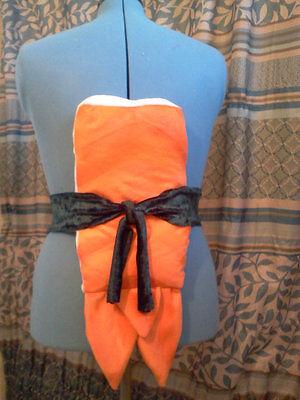Sushi Costume Shrimp Ebi Regular Size 20 x 8 x 3 inches Pillow Only - Halloween