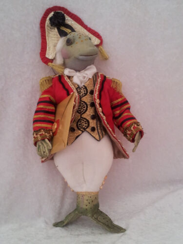 """*NEW* CLOTH ART DOLL (PAPER) PATTERN """"THE FISH FOOTMAN"""" BY SUZETTE RUGOLO"""