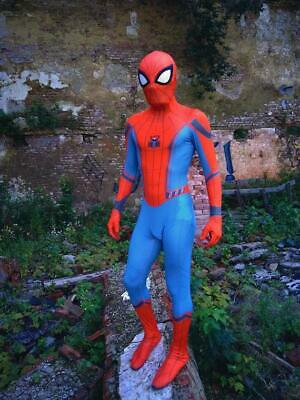 Spider-Man Home Coming Cosplay Costume Spiderman Zentai Suit For Adult & Kids