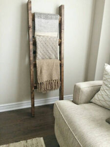 **Bestseller** Rustic wood blanket ladder || Father's day gift