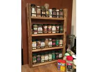 New 4 Shelf Spice Rack