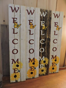 Hand Painted Signs on Wood. Indoor/Outdoor Use.  PEI Made