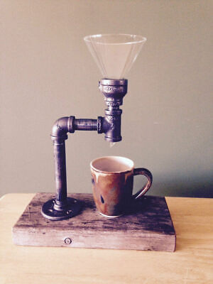 Coffee Maker Vintage Filter - Made from Pipe and Fittings