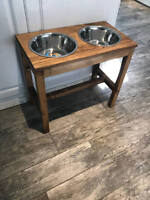 Seeking Wood Worker to Make Dog Feeding Station