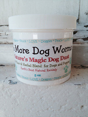 - Natural Diatomaceous Earth Dog Puppy Dewormer Treatment Parasite Control Powder