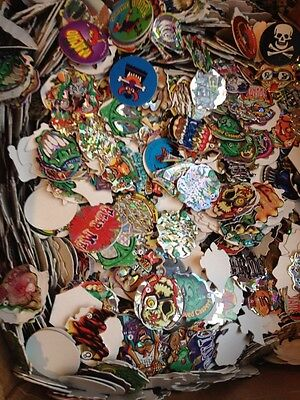 Lot Of 20 Pogs Milk Caps Tazos With Jagged Edges 90S Nineties Toys