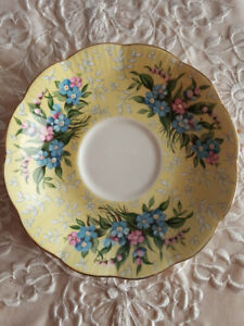 Royal Albert Festival Series 'Shaftesbury' Saucer