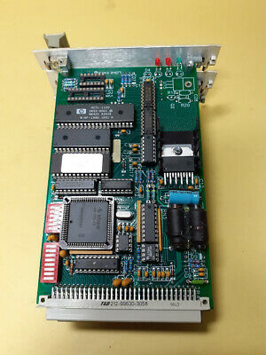 Ludl Electronic Lep Mcdcs 73002051 Vrm022 V5.9 Card Assy 60-02201 1d Mdrdc