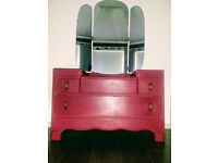 Lebus dressing table/ chest of drawers Annie Sloan