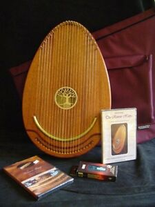 22 String ReverieTherapy Lap Harp - Complete Package