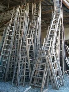 I am looking for old wooden ladders
