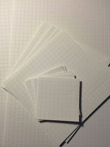 Blank Perforated Acid Free Blotter Paper 7.5