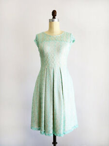 Mint green lace dress - great for Bridesmaid dress