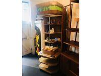 1930s Art Deco Department Store Shop Display Cabinet. Vintage/Antique/Shop Fittings