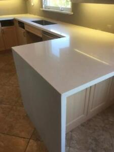 Stone countertop starts from $40/sqft, we carry all popular stone colors.