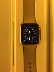 Rose Gold 42mm iWatch with Stone Sport Strap *Excellent Condition* £200 ONO