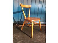 1960s Ercol Single Bar Stacking Chair. Vintage/Retro/Mid Century