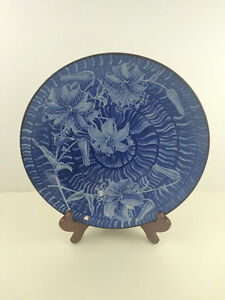 Japanese Decorative plate in Blue and White