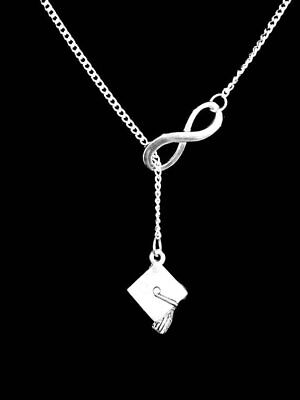 Graduation Cap Necklace Class Of 2019 Lariat Gift For Graduate Jewelry](Graduation Necklaces)