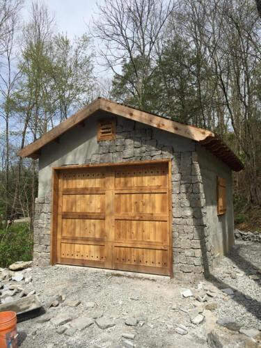 Quality Solid Wood Cedar Garage Doors