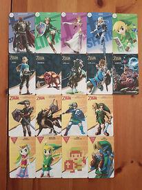 zelda botw amiibo All 18 (nfc cards)