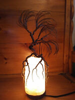 Tree of life salt lamp