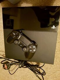 Great XMas Gift! Sony PlayStation 4 500 GB Jet Black Console