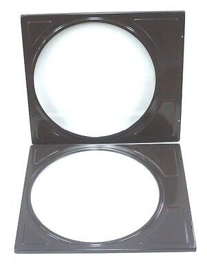 BOX OF 2 NEW NU VUE TYPE ZY2 GLASS AND FRAME ASSEMBLIES 24-1/4