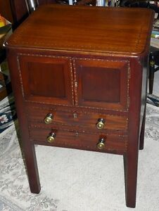 Georgian Period Antique Mahogany 2 Drawer Cabinet Kingston Kingston Area image 8