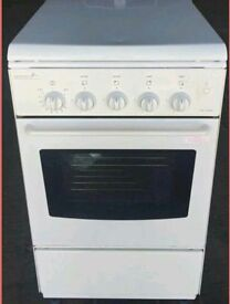 Moffat freestanding gas cooker - white - used