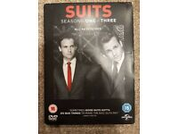 Suits Seasons 1-3