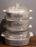 Corning Ware Serving Dishes - 8 Pieces
