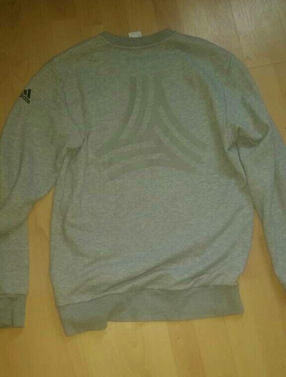 Adidas backprint sweatshirt