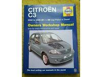 Brandnew Haynes Manual Citroen C3
