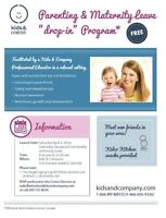 Parent and Baby Playgroup Saturday Mornings in Oakville!