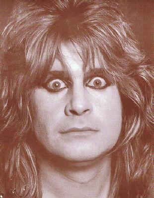 "Ozzy Osbourne Poster Print - Wide Eyes Photo - Black Sabbath - 11""x14"" Sepia"