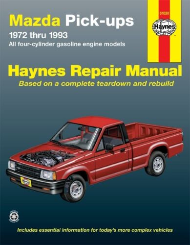 Details About Repair Manual Fits 1975 1993 Mazda B2200 B2000 B2600 HAYNES