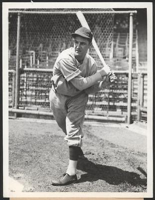 1935 Orig 1St Gen Press Photo   Bill Jurges  Cubs